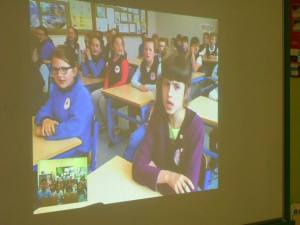 A Skype meeting, is the best way to get to know our pen pals better!
