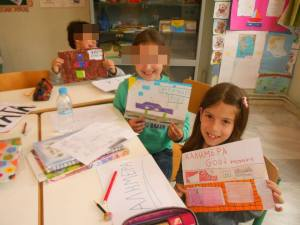 a simply amazing language exchange project we did together with our partners in Taiwan: we taught them greek and they taught them their language! We loved the challenge!