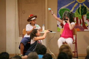 Drama encourages adaptability, fluency, and communicative competence .
