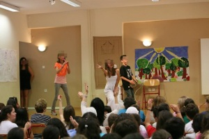 """""""Your face sounds familiar- A concert"""": Music, is an essential part in musical performances! It helps my students reveal their inner talents!"""