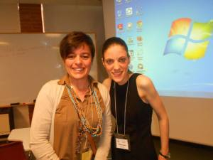 My mentor to start blogging: the amazing Vicky Loras!