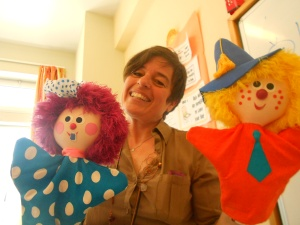 Τeaching with puppets!