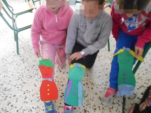 Leg puppets