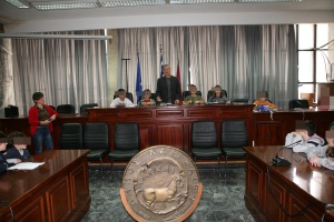At the town Council