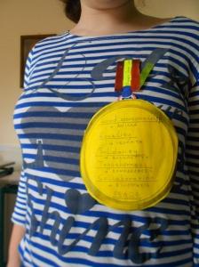 Proud medal holders!